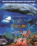 Sharks/Dolphins & Whales/Ocean Wonderlands (3D Blu-ray)