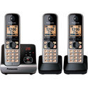 Panasonic KX-TG6723 - Triple DECT-telefoon - Zwart