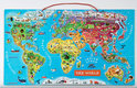 Janod Puzzel Magneet Wereld