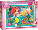 Jumbo Disney Ariel - Puzzel 4x50 stukjes