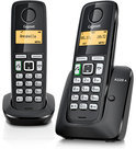Gigaset A220A - Duo DECT telefoon met antwoordapparaat - Zwart