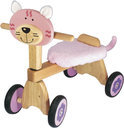 Loopfiets poes rose