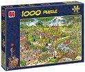 Jan van Haasteren Het Park - Puzzel - 1000 stukjes