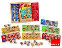 Goula Houten Lotto - Educatief spel - Rekenen Tafels