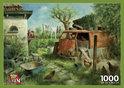 Puzzelman Puzzel - Marius van Dokkum: Kippenhok