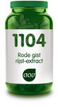 AOV 1104 Rode Gist Rijst-Extract - 90 Capsules - Voedingssupplement