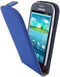 Mobiparts Premium Flip Case Samsung Galaxy S3 Mini Blue