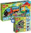 LEGO Duplo Trein Voordeelbundel: Mijn Eerste Treinset 10507 + Trein Accessoire Set 10506
