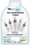 Bigben Component Kabel Wit Wii + Wii U