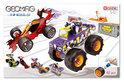 Geomag Raceauto's 4, 62 stukjes