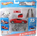 Hotwheels Power set custom motors rood
