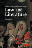 A Critical Introduction To Law And Literature
