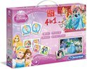 Clementoni Disney Princess 4-in-1 Spel