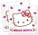 Hello kitty Servetten 33 x 33 cm 20 stuks