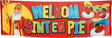 Sinterklaas Banner Welkom Sint en Piet (74 x 220 cm)