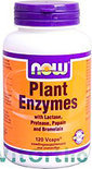 Now Plant Enzymes Capsules 120 st