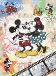 Ravensburger Puzzel - Retro Mickey