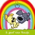 Woezel En Pip Uitnodigingen - Regenboog