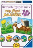 Ravensburger Puzzel - Dieren in de Tuin