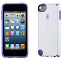 Speck CandyShell - Beschermhoes voor de Apple iPod Touch 5 - White / Grape Purple
