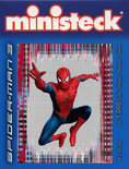 Ministeck Spider-Man Jumping Red 4100-delig