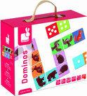 Spel Domino - Bosdieren