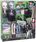 Monster High Create-A-Monster Vampier en Zeemonster