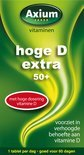 Axium Hoge D Extra 50+ - 60 Tabletten - Vitaminen
