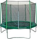 Game on Sport Trampoline Megajump Set - 244 cm - Inclusief Veiligheidsnet