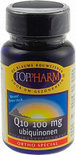 Toppharm Q10 - 100 mg - 90 softgels - Voedingssupplement