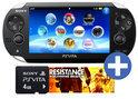 Sony PlayStation Vita Wifi + Resistance: Burning Skies Voucher + 4GB Memory Card