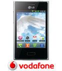 LG Optimus L3 - Zwart - Vodafone prepaid telefoon