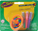 Doodletop Single Pen & Top + 3 Refill Pens - Knutselset Kleuren