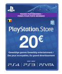 Sony PlayStation Network Voucher Card 20 Euro BE - PS4 + PS3 + PS Vita + PSN