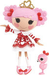Lalaloopsy Doll Queenie Red Heart - Mode Pop