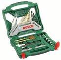 Bosch X-Line 50-delige Accessoireset - Titanium Plus Serie