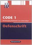 Code / 1 / deel Oefenschrift