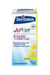 Davitamon Junior 3+ Kauwvitamines - Framboos - 60 Kauwtabletten - Multivitamine
