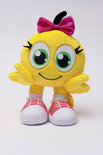 Smileys Large Pluche - Pink Bow