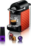 Krups Nespresso Apparaat Pixie XN3006 - Fire-engine red