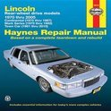 Lincoln Town Car Automotive Repair Manual