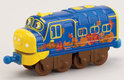 Chuggington Die-cast Trein Brewster Bedekt met Bladeren
