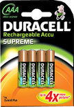Duracell Rechargeable Accu Supreme - 4xAAA