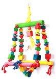 Happy Pet Double Swing Papegaai - Speelgoed - 25 x 44 cm