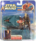 Star Wars Speelgoed: Anakin Skywalker with Force-Flipping Attack