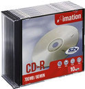 Imation CD-R 80 min/700 MB 10 stuks in slimcase