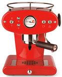 illy X1 Ground Handmatige Espressomachine - Rood  (voor gemalen koffie)