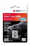 AgfaPhoto Professional high speed SD kaart 8 GB