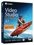 Corel VideoStudio Ultimate X7 - Box pack - 1 user - DVD ( mini-box ) - Win - French, Italian, Dutch