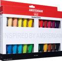 Amsterdam acrylverfset met 24 tubes  20ml